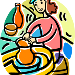 woman-making-pottery-royalty-free-vector-clip-art-illustration-making-pottery-png-396_480